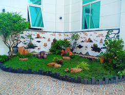 Non bộ sân vườn ở bình phước
